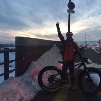 朝練 ファットバイク 11・5km。 体幹を鍛える。 & 修理・パーツ交換 お持込OKです。