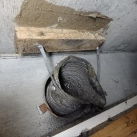 柏市 風呂、トイレの換気扇交換工事