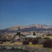 早春の阿蘇、山焼きが行われました。