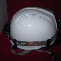 購入忘れのヘルメットライト用ホルダー購入