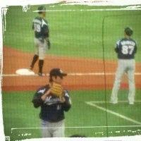 4月1日(金)対オリックス戦 ありがとう大地~!