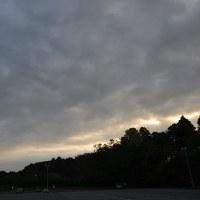 10月22日、午前6時~8時過ぎの空模様