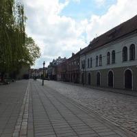 リトアニアのビールを求めて! カウナスは昔首都だった。