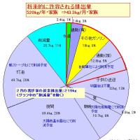 我が家の脱化石資源・CO2排出低減 2007年2月の実績
