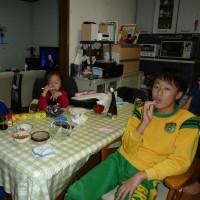 かおり家族が来る。(富山からの立ち寄り)