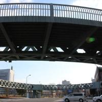 まぁるい歩道橋@横浜