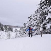 2月22日「真冬の大泥火山in後生掛」下見に行ってきました。