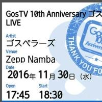 GosTV 10周年記念コンサート@Zepp難波
