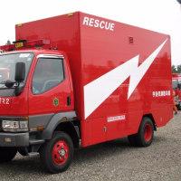 宇治市消防本部 西消防署 高度救助資機材搬送車