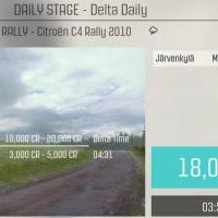 DiRT Rally デルタデイリー(シトロエン2010 フィンランド)