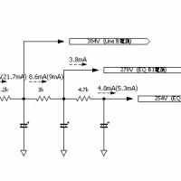 プリアンプの整流回路を整流管からダイオードに変更