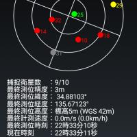 格安スマホでもGPS電波を確実に迅速に捕捉