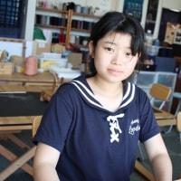 お母さんとコースターを作りました   竹島クラフトセンター