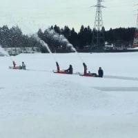 第68回十日町雪まつり 雪像作り(その1)