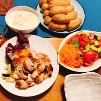 6・19・夜ご飯・ニトリのグリルパンとアマニ油