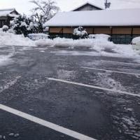 雪道は気を付けて⛄