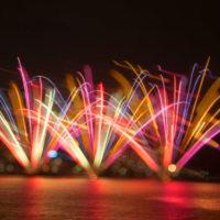 2016 第26回Fukuoka東区花火大会 3(ちょっと花火で遊んでみて)《福岡市東区香椎浜》