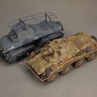 タミヤ 1/48 8輪重装甲車 プーマ 完成! (03)