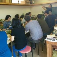 10/15は、湘風園さんの初心者盆栽教室でした。