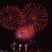 復活!ワン九州フェスの復興夢花火 ~あまくサン・サンタクロース フェスティバル2016・本渡~ その4