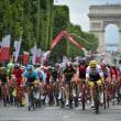 今日は、世界で最も過酷で最も名高い自転車ロードレース『トウール・ド・フランス』の最終日だった。