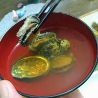 青森の味覚~ベビーアワビとイカ寿司