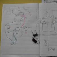 九四式三号甲無線機三六号型通信機受信部の修復作業記録 その6 (2016年11月21日)