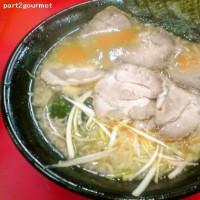 ラーメン力○/ネギチャーシューメン (840円)+太麺(無料)