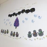 保育園の壁飾り