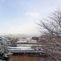 大雪の寒い朝/建国記念の日/綺麗な月