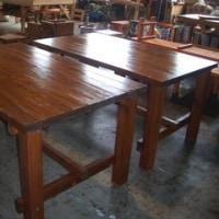 ガーデンテーブル(屋内用・ウレタン塗装)2台