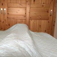 寝冷え対策もパシーマで。その2