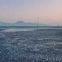 諫早大洪水  締め切り堤防     2