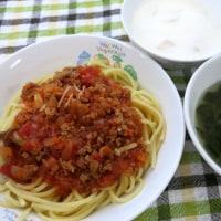 きのこミートスパゲティ