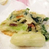 2月17日「ニラと葱の天ぷら」