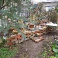 庭で模様替え