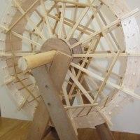 水車模型製作(7)