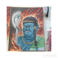 仏画も描きたくて:教室13回目