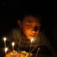 かんちゃん8歳 父の日
