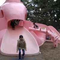 浜寺公園へ