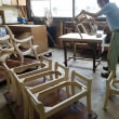 手作り家具 木と対話するように