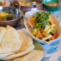 7月2日補講決定! インドの揚げパン プリ