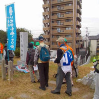 1ヶ月ぶりの例会ウォーク参加「江戸川歩輪ピックウオーク」10km記 (10/25)