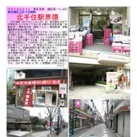 散策 「商店街ー257」 北千住駅界隈