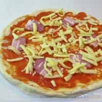 今日はPizza作りにチャレンジ!