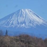 寒い時期の富士山