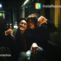 秋山さんinstagram グンちゃんとツーショット(^○^)