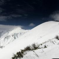 谷川岳からのパノラマ写真