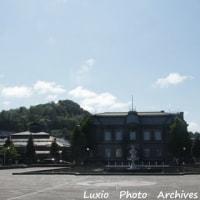 旧日本郵船小樽支店の夏~青空の風景と共に~