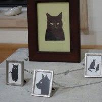 「初夏の風薫る、黒猫・マルシェ」、ウチの黒猫ノワールもお待ちしています…